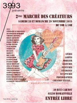 Marché de Noël des créateurs de Romainville